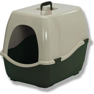 Био-туалет Marchioro BILL 2S зелено-бежевый 57x45x48h см для кошек цена