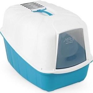 Био-туалет MPS KOMODA с совком голубой 54x39x40h см для кошек