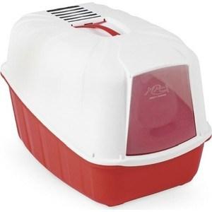 Био-туалет MPS KOMODA с совком красный 54x39x40h см для кошек