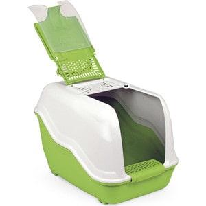 Био-туалет MPS NETTA с совком салатовый 54x39x40h см для кошек био туалет moderna friends forever для кошек с совком синий