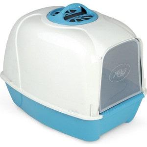 Био-туалет MPS PIXI синий 52x39x39h см для кошек