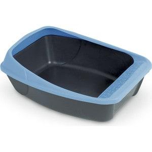 Туалет MPS VIRGO с рамкой 52x39x20h см для кошек туалет лоток для животных mps netta open с рамкой цвет салатовый 54 х 39 х 29 см