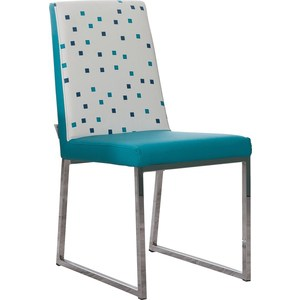 Стул кухонный AlwaysSTAR S21 turquoise экокожа, мягкое сиденье (2 шт)