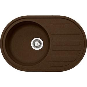 Кухонная мойка Franke Ronda ROG 611 Tectonite шоколад (114.0359.949) кухонная мойка franke rog 611 с бежевый