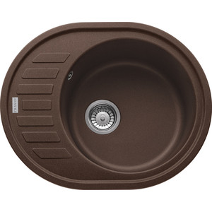 Кухонная мойка Franke Ronda ROG 611 C Tectonite шоколад (114.0263.463)