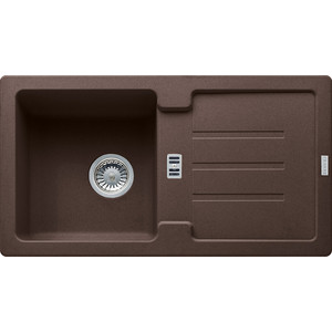 Кухонная мойка Franke Strata STG 614-78 шоколад (114.0312.547) кухонная мойка franke stg 614 78 миндаль 114 0312 530