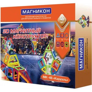 Магнитный конструктор Магникон МАГНИКОН (MK 46) магникон mk 34