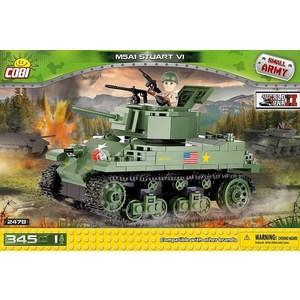 Конструктор COBI танк M5A1 STUART VI