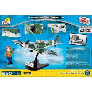 Конструктор COBI самолет SUPERMARINE SPITFIRE