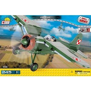 Конструктор COBI самолет PZL P11C