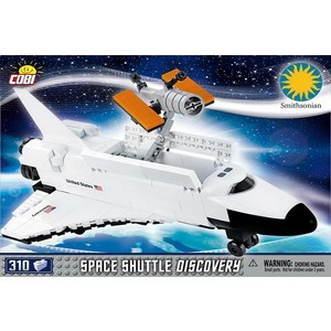 Конструктор COBI SPACE SHUTTLE DISCOVERY susengo model building blocks kit space shuttle launch center rocket astronaut figures spacecraft boy toy compatible with lepin