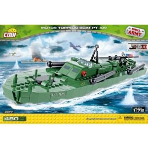 Конструктор COBI Motor Torpedo Boat PT 109 hatsan torpedo 150