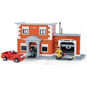 Конструктор COBI Engine 13 Fire Station (COBI-1477) конструктор cobi christmas time