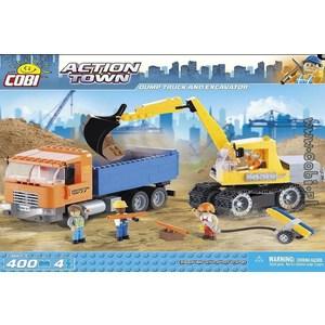 Конструктор COBI Dump Truck and Excavator
