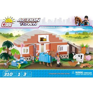 Конструктор COBI Countryside farm (COBI-1875) конструктор cobi christmas time