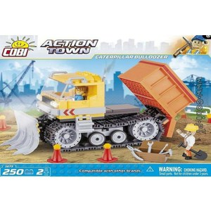 Конструктор COBI Caterpillar Bulldozer аксессуар rock flat usb microusb 1m white
