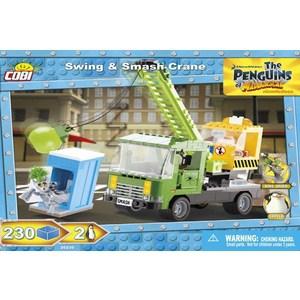 Конструктор COBI Swing Smash Crane paper crane print drop waist mini dress