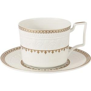 цены на Чашка с блюдцем Colombo Золотой замок (C2-CS-6962)  в интернет-магазинах
