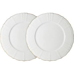 Фото - Набор из 2-х обеденных тарелок Colombo Бьянка (C2-DR_2-K4815AL) заварочный чайник 0 85 л colombo бьянка c2 tp k4815al