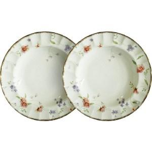 Набор из 2-х суповых тарелок Colombo Флёр (C2-SP_2-3701AL) чайный сервиз colombo флёр из 15 предметов на 6 персон c2 ts 15 3701al