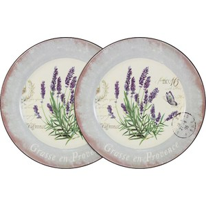 Набор из 2-х обеденных тарелок Anna Lafarg LF Ceramics Лаванда (AL-120E2257-L-LF) 10 pieces lot mst9u89cl lf