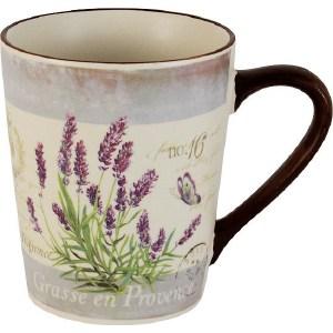 все цены на Кружка Anna Lafarg LF Ceramics Лаванда (AL-135F6970-1-L-LF) онлайн