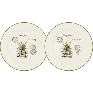 Набор из 2-х десертных тарелок Anna Lafarg LF Ceramics Букет (AL-55E2258-3-B-LF) 10 pieces lot mst9u89cl lf