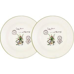 Набор из 2-х суповых тарелок Anna Lafarg LF Ceramics Букет (AL-80E2256-3-B-LF/LF-80E2256-3-AL) mst6i78zx lf tl