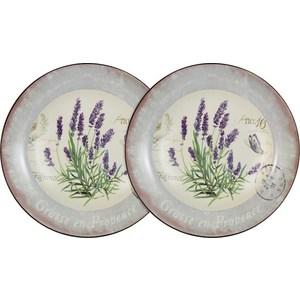 Набор из 2-х суповых тарелок Anna Lafarg LF Ceramics Лаванда (AL-80E2256-L-LF) набор из 2 х обеденных тарелок anna lafarg lf ceramics кантри хоум al 120e2257 7 lf