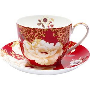 цены Чашка с блюдцем Maxwell & Williams Кимоно красный (MW637-PK0423)