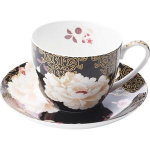 Чашка с блюдцем Maxwell & Williams Кимоно черный (MW637-PK0425)