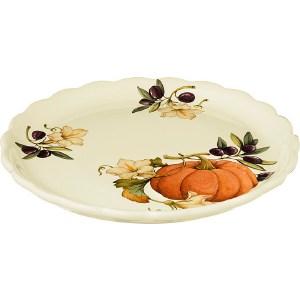 Тарелка обеденная Nuova Cer Тыква (NC7410_2-ODN-AL)