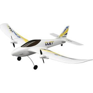 Радиоуправляемый самолет HobbyZone Duet 2.4G радиоуправляемый самолет hobbyzone delta ray технология safe
