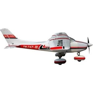 Радиоуправляемый самолет Volantex RC TW747 3 Cessna 182 бульонница luminarc flashy colors 500 мл красный