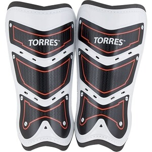Щитки футбольные Torres Training FS1505L-RD р. L
