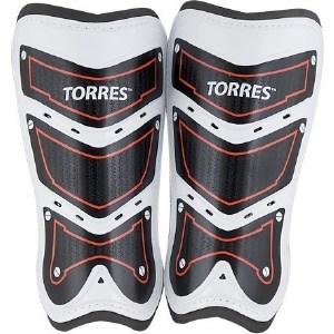 Щитки футбольные Torres Training FS1505S-RD р. S