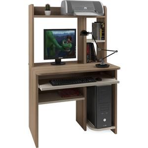 Компьютерный стол Атлант Интел 1 ясень шимо темный, ясень шимо светлый