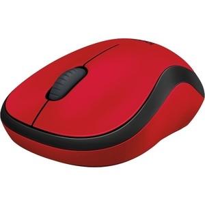 Мышь Logitech M220 Silent Red