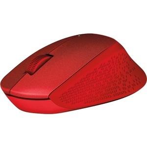 Мышь Logitech M330 Silent Plus Red