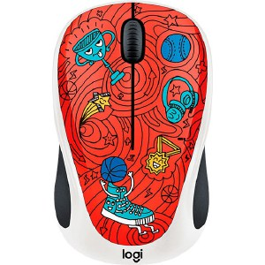 Мышь Logitech M238 Doodle Collection CHAMPION CORAL цены