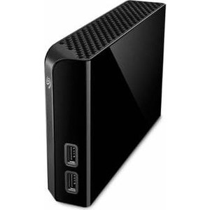 Внешний жесткий диск Seagate 4Tb STEL4000200 Backup Plus Hub черный