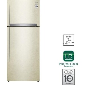 lg gc 154sqw Холодильник LG GC-H502HEHZ
