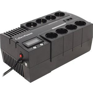 ИБП CyberPower BR700ELCD 700VA/420W (4+4 EURO) ибп cyberpower value700ei b 700va