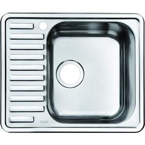 Кухонная мойка IDDIS Strit (STR58SRi77) кухонная мойка iddis strit str58sri77