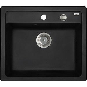 Кухонная мойка IDDIS Vane G черный (V01B571i87)