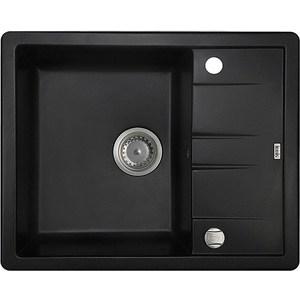 Кухонная мойка IDDIS Vane G черный (V06B621i87)