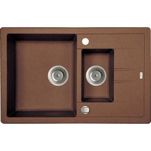 Кухонная мойка IDDIS Vane G шоколад (V34C785i87) шоколад qanba n1 g лей тинг рокер большой круг профиль аркада джойстик коф