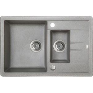 Кухонная мойка IDDIS Vane G серый (V17G785i87) iddis vane v9rs129i85