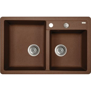 Кухонная мойка IDDIS Vane G шоколад (V35C782i87)