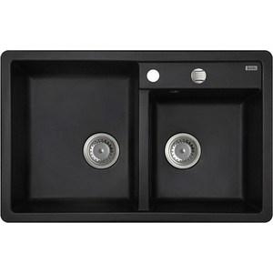 Кухонная мойка IDDIS Vane G черный (V21B782i87)